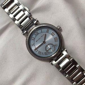 Michael Kors light blue watch